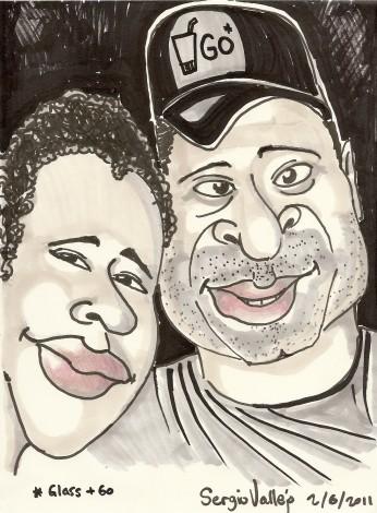 la caricature - Sergio Vallejo