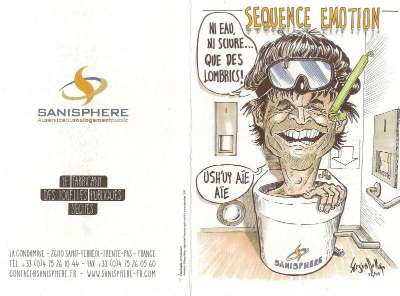 La Caricature - Carte voeux 2018 SANISPHERE