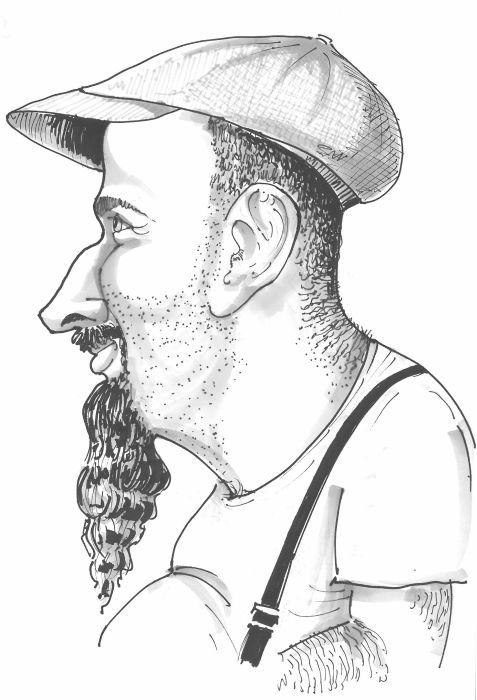 Sergio Vallejo La Caricature Barbu