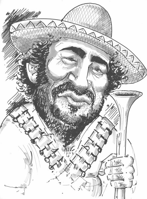 Sergio Vallejo La Caricature Marco Villa