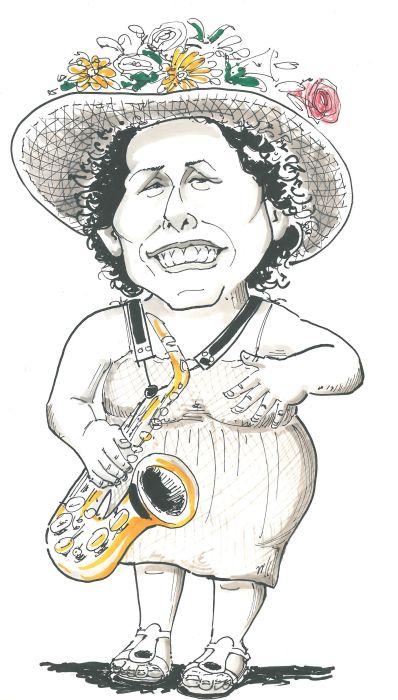 Sergio Vallejo La Caricature saxophoniste