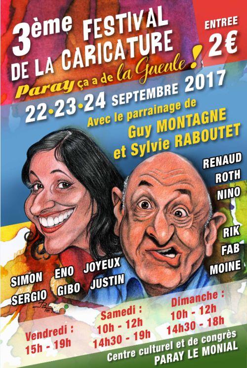 Festival de la caricature 2017 - Paray le Monial
