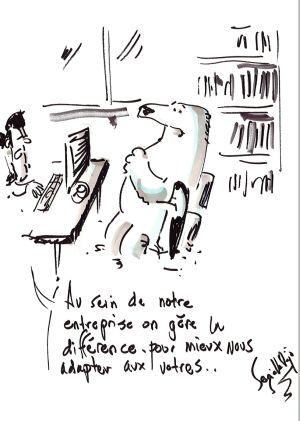 la caricature - clin oeil séminaire klesia